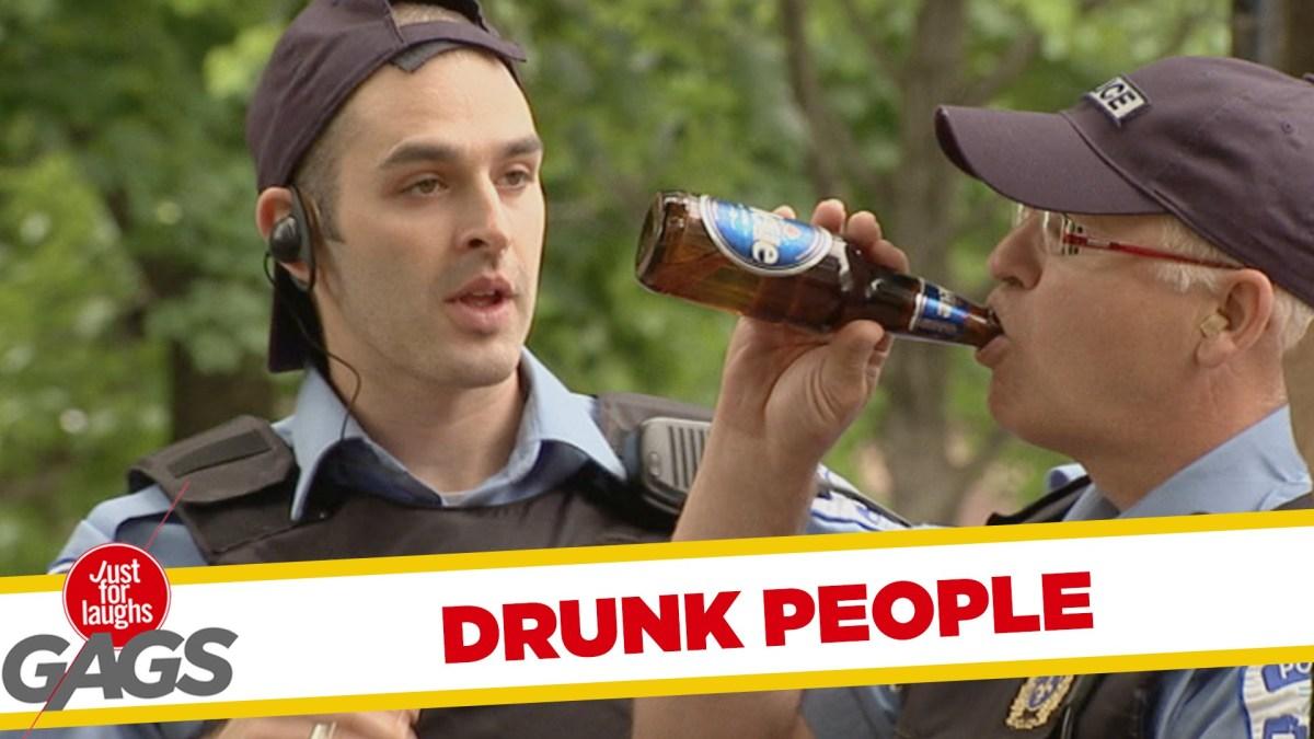 Drunk People Pranks