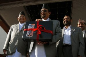 Finance Minister Mahat Presenting Budget For FY 2015/16 - TexasNepal