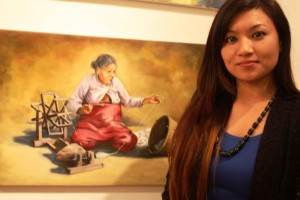 London Based Nepali Artist Celebrates Dignity and Strength of Nepal - TexasNepal News