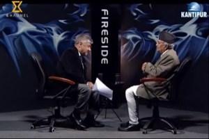 Fireside with Ram Chandra Poudel - TexasNepal News