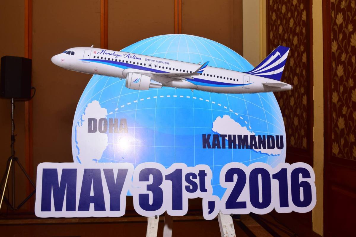 Himalaya Airlines Announces Regular Flights To Doha Starting May 31