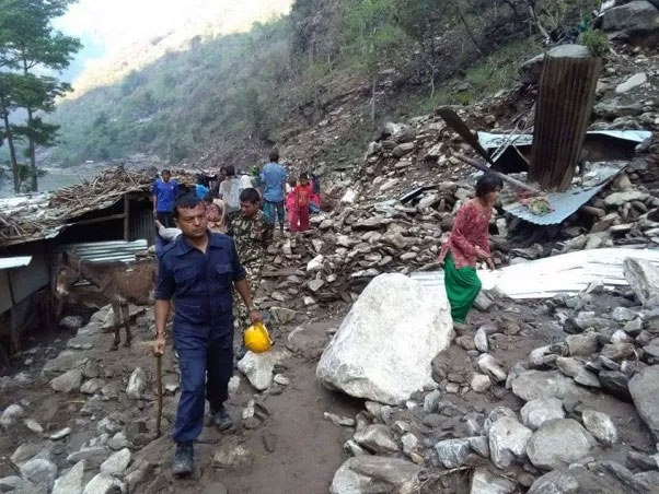 Kalikot Landslide Kills Four, Three Gone Missing