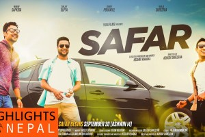 Upcoming Movie 'Safar' Releases Its Featured Single 'Ma Herdai Chhu' - TexasNepal