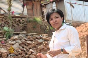 Subina Shrestha's Earthquake Coverage Earns Her Emmy Nomination - TexasNepal