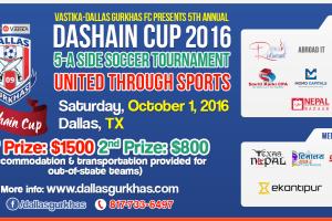 Dallas Gurkhas FC In Final Groundwork For 5th Annual Dashain Cup-2016 - TexasNepal News