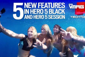 Techtonic: 5 New Features in GoPro Hero 5 Black and Hero 5 Session - TexasNepal