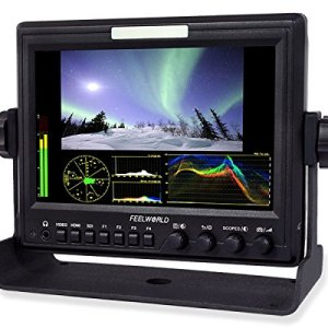 Feelworld-Z7-7-Aluminum-Design-IPS-Monitor-with-Waveform-Vectorscope-HDMI-to-SDI-Converter-Black-B01CCBLB4I