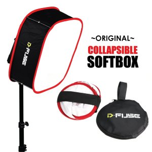 Kamerar-Dfuse-LED-Light-Panel-Softbox-Collapsible-Diffuser-Foldable-Portable-w-Strap-attachment-for-studio-photography-B01GCHCYOO