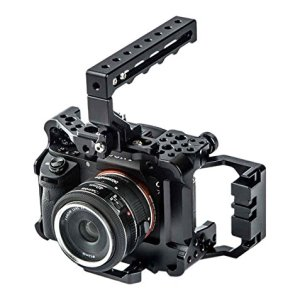 Seercam-SCA7RIIA7SIIK-RS2-Camera-Cage-for-the-Sony-A7Sii-and-A7Rii-Black-B01C6Q3QQ0