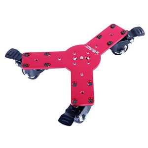 SevenOak-SK-Dw02-Three-Wheeled-Skater-Dolly-Video-Shooting-Stabilization-for-DSLRs-and-Camcorders-Black-B00AXRB4DW
