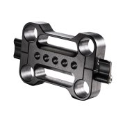 Walimex-Pro-20199-Aptaris-Double-15mm-Rod-Clamp-for-Video-Rig-System-Black-B00LFKQO8G