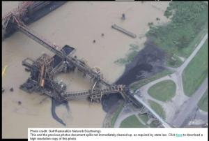 Coal Export Terminal Pollution on the Mississippi