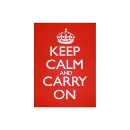 TGI Found It Keep Calm and Carry On Canvas