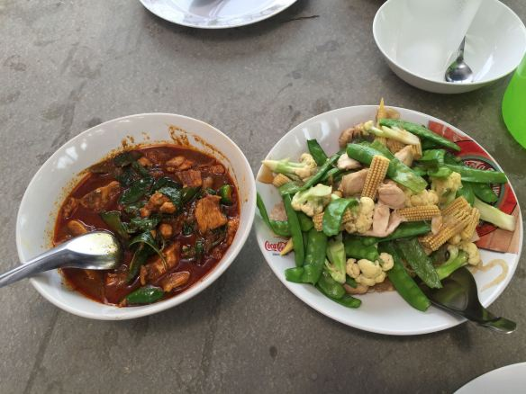 two dishes
