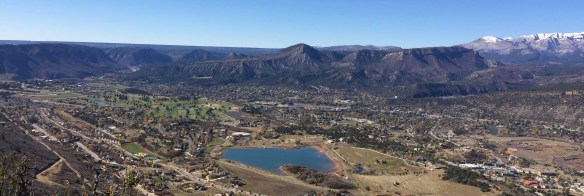 Durango from north end of Raider Ridge