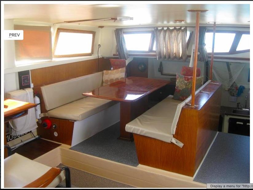 A great 43 cruising cat for sale sold tgsg blog for Salon de ja
