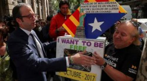 Referendums on the march – TGTE Condemns Violence to Suppress The Right To Decide in Catalonia