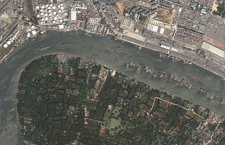 Bangkok and Bangkrachao