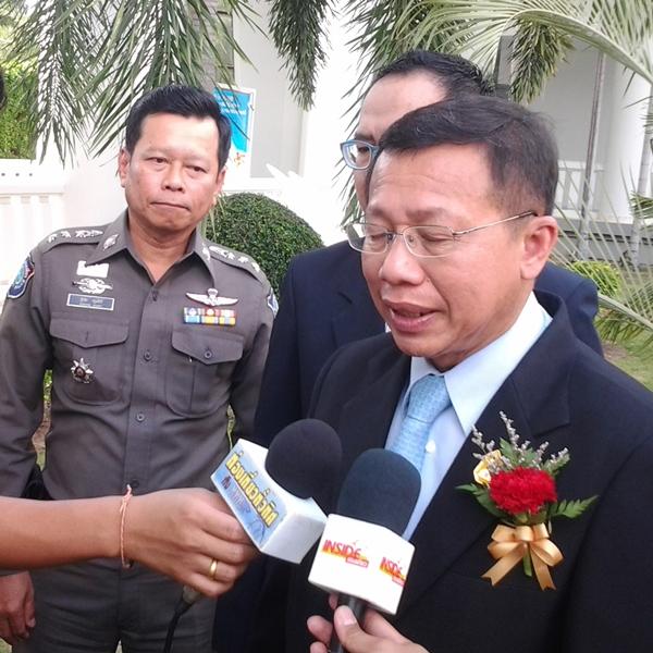 Minister of Tourism and Sports Somsak Pureesrisak