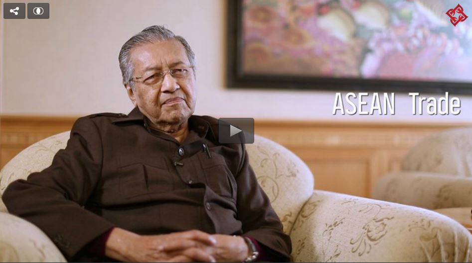 Tun Dr. Mahathir Mohamad on ASEAN trade, and the future of Proton