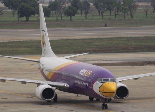 HS-DBA Boeing Boeing 737 Nok Air at Don Mueang International Airport in Bangkok