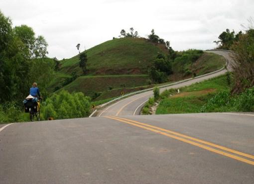 Cycling in Lom Sak