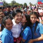 Yingluck Shinawatra receives morale boost in the Northeast