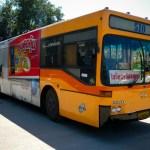 Phuket Breaking News: Bus overturns on Chalong-Kata hill