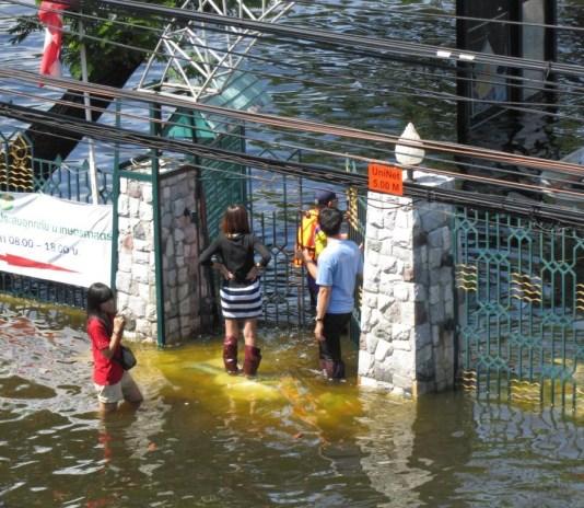 Thailand floods in November 2011