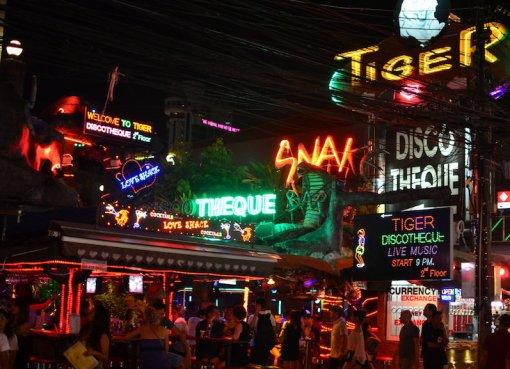 Bars in Patong, Phuket