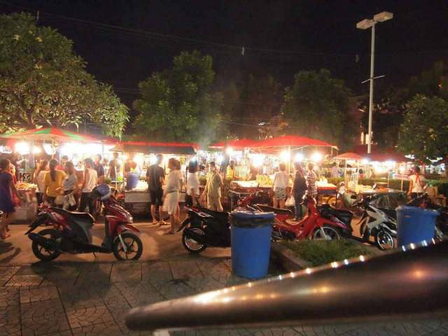 Night market in Phuket