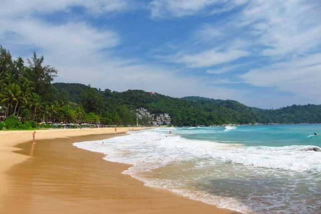kata noi beach in thailand