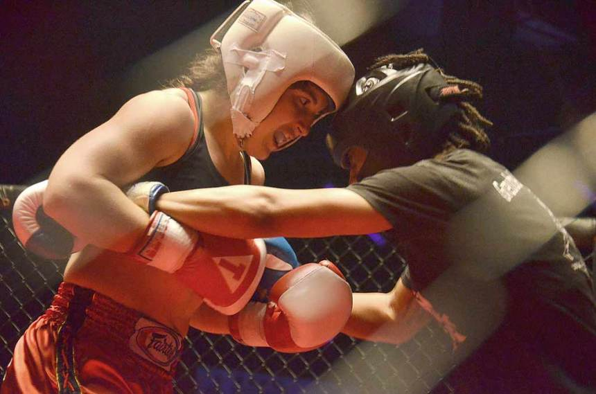 Muay Thai fight Bangkok