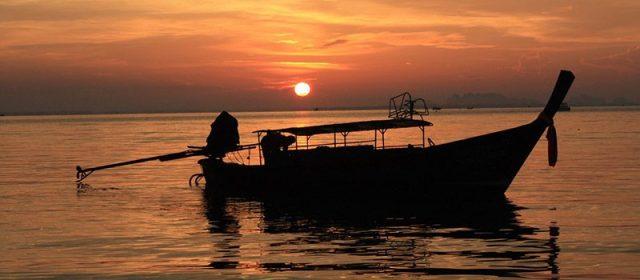 Sunset Krabi Image