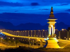 Thai-Laos Friendship Bridge Image