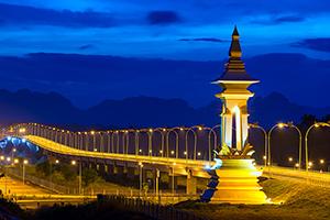 Thai-Laos Friendship Bridge Image
