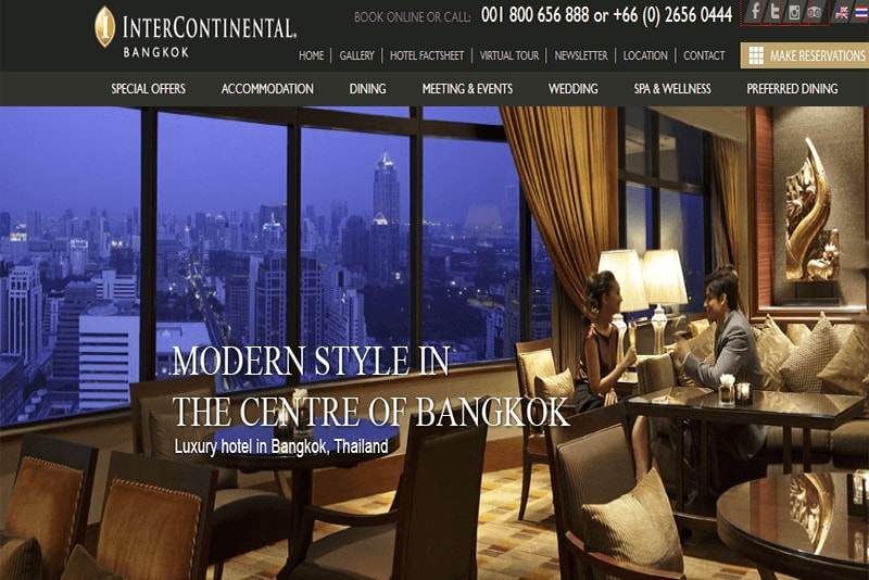 Intercontinental Bangkok Image