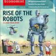 นิตยสาร The Economist ฉบับวันที่ 29 มีนาคม พ.ศ. 2557 ได้ขึ้นปกว่า Rise of the Robots และมีบทความพิเศษเกี่ยวกับหุ่นยนต์ 8 บทความ ยาว 14 หน้า เป็นที่สนใจในวงการหุ่นยนต์ไม่น้อย ThaiRobotics ก็ไม่พลาดที่จะนำมาเสนอให้อ่านกัน น่าสนใจมากครับ มี 8 บทความดังนี้ New roles for technology -บทบาทใหม่ของเทคโนโลยี Immigrants from the future -ผู้อพยพจากอนาคต The build-up -การก่อร่างสร้างตัว Military uses -การใช้งานทางทหาร Business service robots -ธุรกิจหุ่นยนต์บริการ Labour markets -ตลาดแรงงาน Domestic service robots -หุ่นยนต์บริการในบ้าน Regulation -กฎหมายควบคุม ภาพและที่มาThe Economist : Rise of the Robots