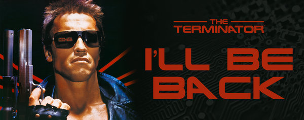 Terminator ภาพจาก http://www.gbeye.com/categories/filmandtv/the-terminator-ill-be-back-mug