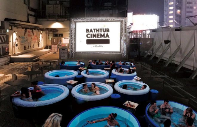 Bathtub Cinema