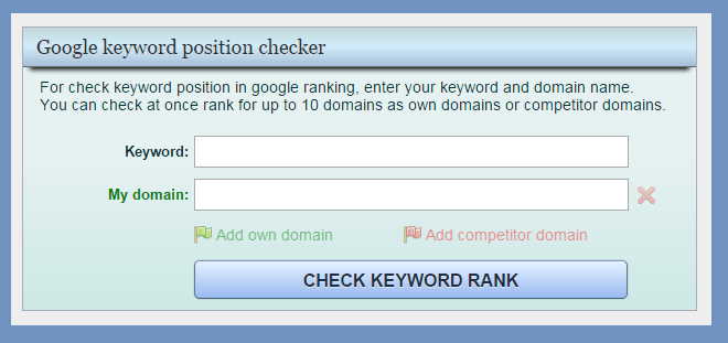 Moonsy - Keyword Rank Checker Tool | Thakur Blogger