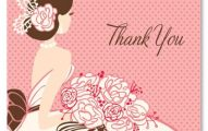 Thank you image from bridal shower.