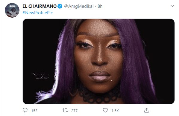 Medikal Mocks Eno After She Failed To Win Rapper Of The Year