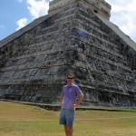 John at the main temple