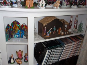 Nativity Shelf!
