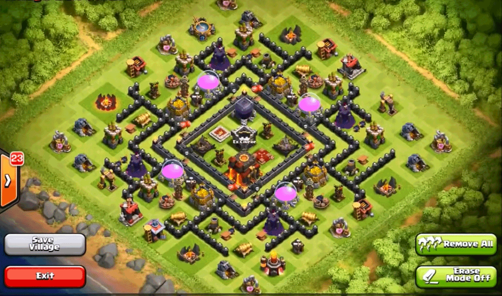 Best clash of clans town hall 9 base