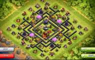 Best Clash Of Clans Town Hall Level 9 Defense Base Design 1