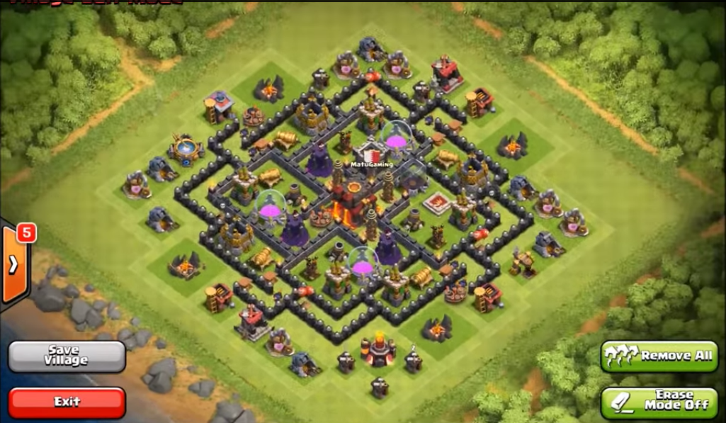 Pics photos top 10 clash of clans town hall level 8 defense base