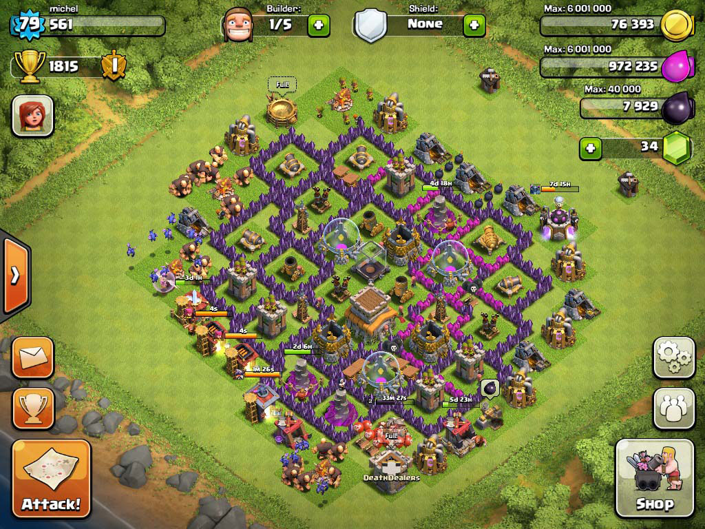 how to build the best base on clash of clans