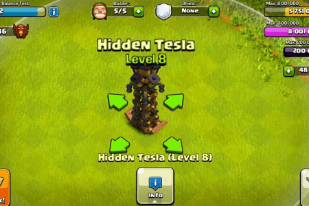 tesla lvl 8 top 10 clash of clans update